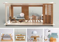 Lundby Stockholm Modern Dollhouse | No Ordinary Dollhouse | Little Gatherer