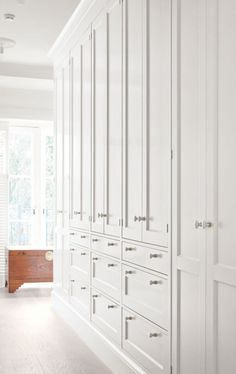 Full height cabinets
