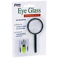 Flents Eyeglass Repair Kit - 1 Each by Flents. $3.87. It is hinge screws-assorted to fit most eye or sunglasses, precision mini screwdriver, nose pads, magnifier, pocket size carrying case.. It is must for everyone wearing eye glasses.. Flents Eyeglass Repair Kit is perfect for emergency repairs and adjustments.. INDICATIONS: Flents Eyeglass Repair Kit Perfect for emergency repairs and adjustments. A must for everyone wearing eye glasses. Kit includes: hinge screw...