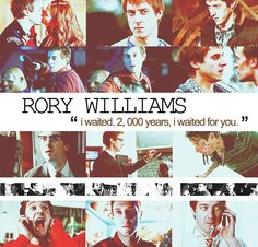 Rory Williams, Rory Pond, The Last Centurion... Or as I like to call him, perfect <3