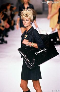 Linda Evangelista for Chanel 1996