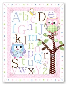 Hayley nursery alphabet