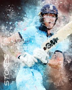 Cricket Sport, Live Cricket, Ashes Cricket, Cricket Poster, England Cricket Team, Engineers Day, Ben Stokes, Rugby Players, I Love Anime
