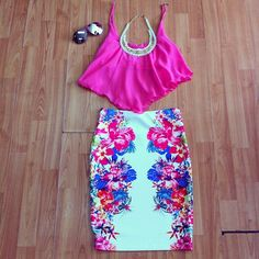 Love.... Cute summer outfit
