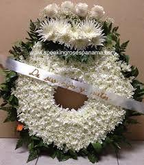 Resultado de imagen para arreglos para funerales
