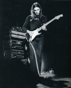 """""""You know, once you've had that guitar up so loud on the stage, where you can lean back and volume will stop you from falling backward, that's a hard drug to kick."""" - David Gilmour, Pink Floyd (1971)"""