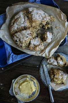 Wattleseed, Sultana, and Pecan Soda Bread with Maple Butter