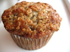 Banana Oatmeal Muffin - These are the BEST banana muffins!!!! Didn't use Bits, added ground flax and hemp seeds.