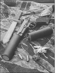 """S&W MK22 mod.0 """"Hush Puppy"""" Navy SEALs & SF, Vietnam"""