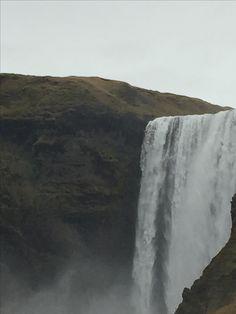 Skogafoss Waterfall - troll territory Troll, Iceland, Waterfall, October, Outdoor, Ice Land, Outdoors, Waterfalls, Outdoor Games