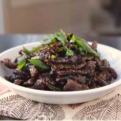 If you're addicted to PF Chang's Mongolian Beef like I am, you'll now get to make this at home. And it's quicker and tastier.
