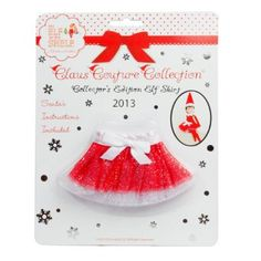 Amazon.com: Elf on the Shelf Claus Couture Collection Tutu Skirt, Special Edition: Toys & Games