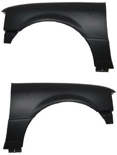 Ford Ranger 04-11 Hand Left & Right Side Fenders Pair Set w/o Wheel Moulding All of our parts are certified by the Department of Transportation and the Society of Automotive Engineers.. If you have any questions please contact us before making a purchase.. This item fits a 2004-2009 FORD RANGER..  #Auto_Lighthouse #Automotive_Parts_and_Accessories