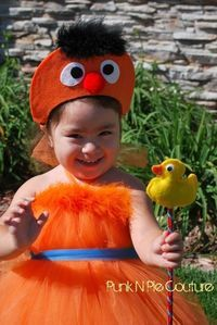 Ernie Halloween Costume Tutu Dress