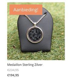Sterling zilveren medaillon