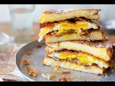 The Ultimate French Toast Breakfast Sandwich | Kin Community