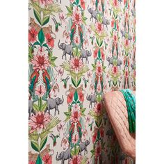 Painting Wallpaper, Blush, Wallpapers, Curtains, Shower, Prints, Room, Rain Shower Heads, Bedroom