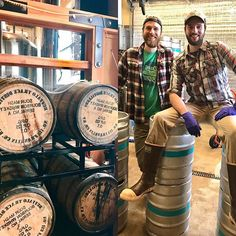 The boys kegged up some #bourbonbarrelagedbeer over the weekend. Keep a eye out for new releases coming soon, both on tap and 22oz bottles to go.  #skyhighbrewing  #craftbrewing  #corvallis  #oregon
