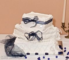 Cake Wrecks - #wedding cakes, what they wanted vs. what they got... Oh my!