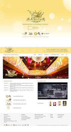 Hong Kong Bar & Club website design