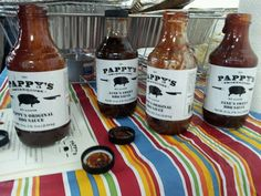 Pappy's Smokehouse sauces ounce by ounce.