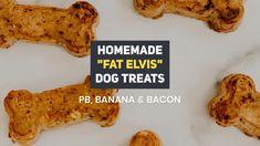 Healthy Homemade Triple Cheddar Dog Treats | House Fur Peanut Butter Roll, Coconut Peanut Butter, Homemade Peanut Butter, Natural Peanut Butter, Homemade Dog Treats, Blender Food Processor, Food Processor Recipes, Fat Elvis, Bacon Dog Treats