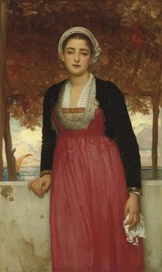 Sier Frédéric Leighton (1830-1896), Amarilla