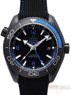 Omega Seamaster Planet Ocean 600m Deep Black 45.5 GMT 215.92.46.22.01.002
