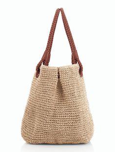 Talbots - Braid-Handle Straw Tote | Handbags |