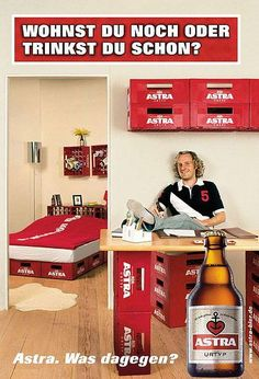 Astra | Make a house a home. #advertisement #kreative #werbung