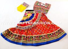 APPROX SIZE:Height of Skirt (chaniya) (waist Skirt flared size (width of Blouse Fabric -Cotton Dupatta (stole) fabric : chiffon with embroidery border lace. You will look very vibrant and stunn Gagra Choli, Garba Dress, Casual Party, Work Blouse, Occasion Wear, Lehenga Choli, Fashion Wear, Party Wear, Chiffon