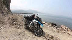 Route to Samarkand on a BMW GS 1200 2013. Turkey Black Sea