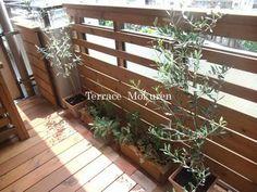 ウッドフェンス Rooftop Patio, Outdoor Balcony, Balcony Garden, Terrace, Garden Cafe, Home Again, Mother Nature, Outdoor Living, Interior