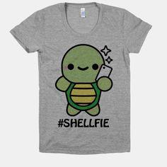 Shellfie too cute