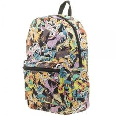 5230f6e3a1 BIOWORLD Pokemon Eevee Evolution Toss Print Sublimated Backpack