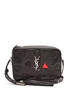 Monogram Lou quilted-hearts leather cross-body bag   Saint Laurent   MATCHESFASHION.COM