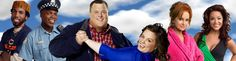 The entire cast of Mike & Molly
