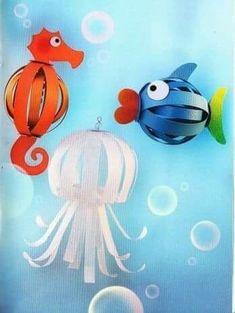 Bolo medusa pes y caballo mar