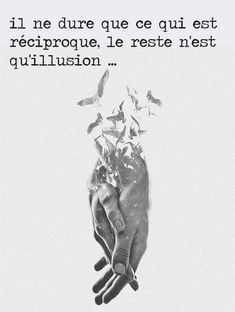 It only lasts as long as there's reciprocity. Such a whimsical concept isn't it? All the rest is elusive delusionary illusion. Love Friendship Quotes, Tu Me Manques, Quote Citation, Citation Paris, French Quotes, Mood Quotes, What Is Love, Illusions, Best Quotes