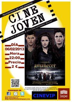 Cine Joven presenta: Amanecer Parte2. Miércoles 6 de febrero, a las 22h en Cinevip Lepe