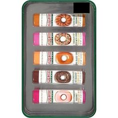 Krispy Kreme Doughnuts Flavored Lip Balm Gift Set, 5 pc by Lotta Luv Lotta Luv http://www.amazon.ca/dp/B01AE6BPVC/ref=cm_sw_r_pi_dp_Wnp2wb10MEG2G