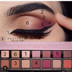Anastasia Beverly Hills modern renaissance eyeshadows
