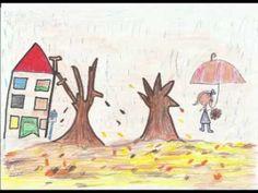 Canción Infantil. El otoño Activity Centers, Teaching Kids, Art Projects, Spanish, Videos, Classroom, Seasons, Fall, September