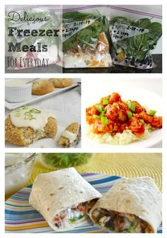 115  Freezer Meal Recipes