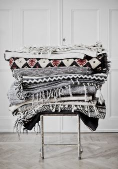 Shawls and blankets | Winter layers