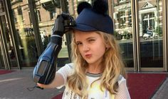 With My Bionic Arm, I'm Like A Superhero' How 3D-Printed Prosthetics Helped A Little Girl