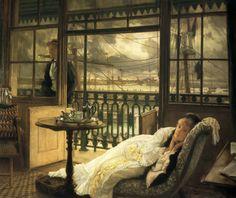 A Passing Storm, James Tissot, 1876