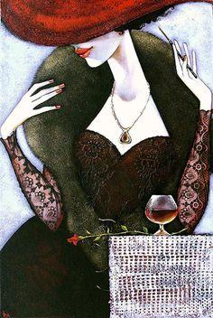 """Ira Tsantekidou (Greek, born 1967)  """"La Femme Fatale"""""""