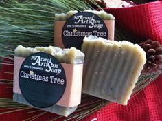 Christmas Tree...what says Christmas more than a fresh pine soap?  Natural and handmade!
