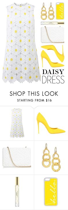 """Daisy Dress"" by lgb321 ❤ liked on Polyvore featuring Dolce&Gabbana, Anya Hindmarch, Gurhan, Marc Jacobs and CellPowerCases"